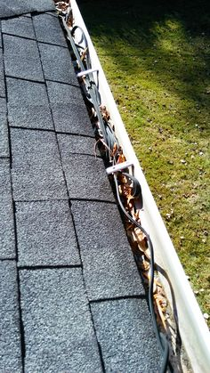 """Another satisfied customer provided us with a great review. https://goo.gl/z9spRR   Get a quote now and say """"goodbye"""" to clogged gutters! https://goo.gl/KEQXdG #gutter #guttercleaning #guttersystem #raingutters"""