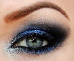 Deep shades of blue paired with a gorgeous brow arch. Keep up with what's trending this season at MYXFusions.com!