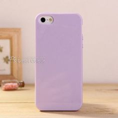 Free shipping 1pc Solid candy color TPU protective back cover case for Apple iphone5 5g 5s