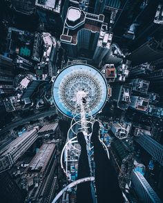 Terrifying Rooftop Photography From The Futurescapes of Shanghai by Jennifer Bin #inspiration #photography