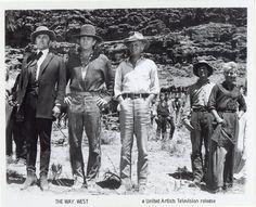 Kirk Douglas, Robert Mitchum & Richard Widmark