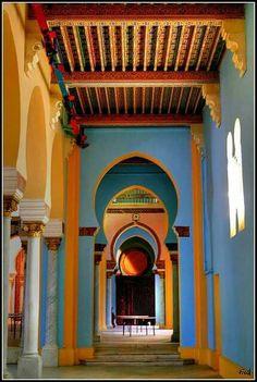 Saint Louis Cathedral, Al Marsa, Tunisia.