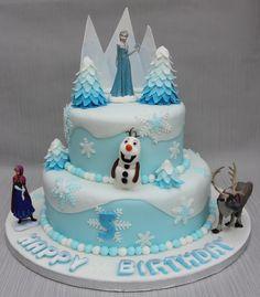 frozen cake ideas | d094bad121ee13a1787d3a68301cad7c Super Ideas and designs frozen cakes