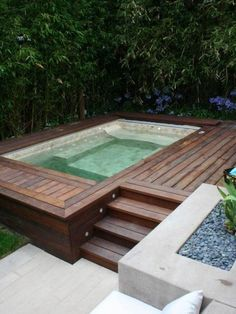 Exterior, The Benefits of Getting Backyard Swimming Pool : above ground backyard swimming pool