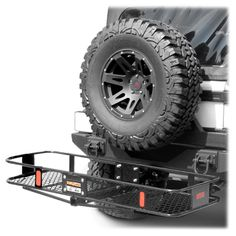 "Curt Manufacturing™ Basket Carrier for all Jeep® Wranglers with 2"" Receiver Hitches"