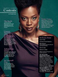 Viola Davis Natural Hair   Magazine Love: Viola Davis Graces the Cover of Essence Magazine