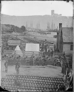 View of Yorktown, Virginia. May 1862 by The U.S. National Archives, via Flickr