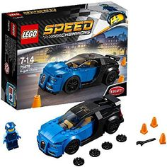 Lego Speed Champions Toy Sets For Kids 7 To 12 Year Old - Educational Toys Planet Lego Sets, Bugatti Chiron 2017, Lego Wheels, 2018 Dodge Challenger Srt, 1968 Ford Mustang Fastback, Lego Technic Sets, Lego Speed Champions, Life Car, Batmobile