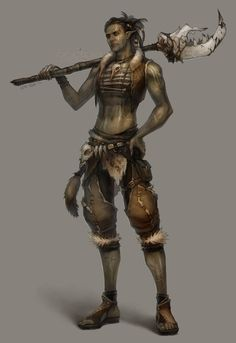 tribal warrior by `len-yan on deviantART