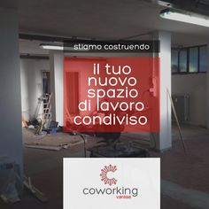 Promo #Facebook per #Coworking #Varese (2014) Graphic Portfolio, Broadway Shows, Neon Signs, Facebook, Poster, Movie Posters