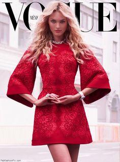 Candice Swanepoel, Vogue Mexico, September 2013