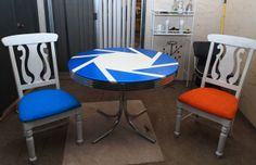 Awesome Portal themed table and chair.