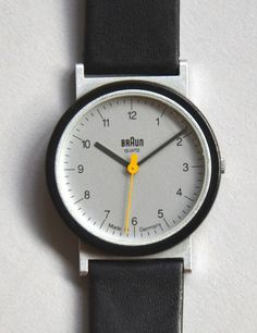 A History of Braun Design, Part 2: Timepieces - Core77