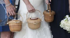 This Nantucket wedding is classically gorgeous and oh-so refined in its style. Megan makes for one gorgeous bride, and makes. read more. Nantucket Wedding, Nantucket Style, Nantucket Island, Old Baskets, Wicker Baskets, Nantucket Baskets, Wine Carrier, Prep Style, Brides And Bridesmaids