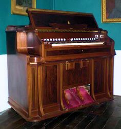 Mustel Harmonium from the collection of the French Harmonium Association