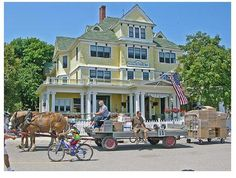 Mackinac Island:  This is the only Motorless city in the USA!  You get there by ferry, then walk, bike, ride a horse, or take a horse drawn taxi to get around.  Known for its delicious fudge (Hudsonville Ice Cream made a flavor with it) beautiful trails, serenity, and the prestigious Grand Hotel, Mackinac Island is an amazing place.  One of my favorite spots in Michigan...highly recommended!