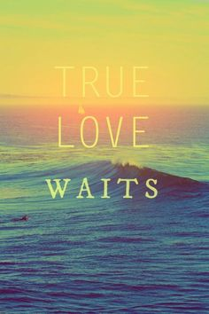 True Love Waits <3