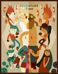 Adventure time_retro ver Adventure Time Style, Adventure Time Characters, Adventure Time Anime, Adventure Time Personajes, Abenteuerzeit Mit Finn Und Jake, Adventure Time Wallpaper, Adveture Time, Marceline And Princess Bubblegum, Land Of Ooo