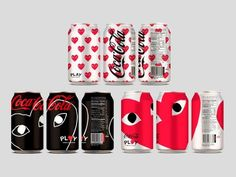 Coke cans by Comme des Garçons. (just a protype, unfortunately...)