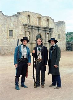 Jason Patric, Billy Bob Thornton, and Patrick Wilson in The Alamo Alamo Movie, Jason Patric, Nature Film, Western Comics, Western Art, Texas Revolution, Touchstone Pictures, Patrick Wilson, Cultura General