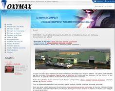 Oxymax : découpage d'acier