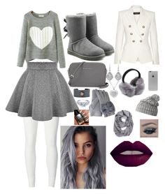 TRYING TO STAY WARM ON A COLD DAY by inolagduke on Polyvore featuring art