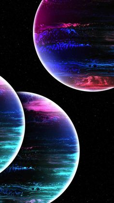 Extraterrestrial Planets IPhone Wallpaper - IPhone Wallpapers
