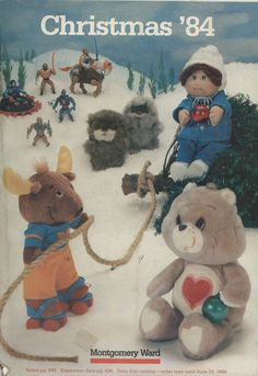 the little mennonite blog - happy 80s memories.... I totally remember Montgomery Ward and the toy section