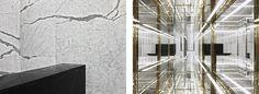 The sleek and minimal Saint Laurent store in Shanghai