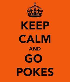 Keep Calm and Go Pokes!