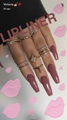 Nov 2019 - Pin by Gabby Joseph on Nails Nails, Nail designs, Acrylic nails coffin joe nails - Coffin Nails Gorgeous Nails, Love Nails, Pretty Nails, My Nails, Acrylic Nail Designs, Acrylic Nails, Acrylics, Nagel Gel, Nails On Fleek