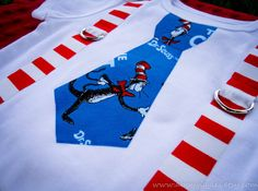 dr seuss cat in the hat birthday outit