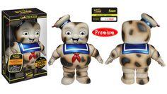 Need this!!! Hikari Sofubi: Stay Puft Marshmallow Man - Burnt | Funko