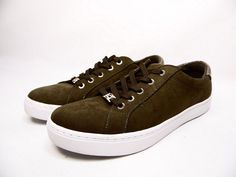 60b91a7e2926b Liz Claiborne Warwick Womens Sneakers Olive Size 9W  LizClaiborne   FashionSneakers Streetwear Shoes