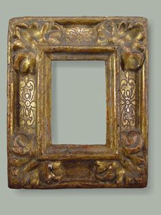 antique Spanish picture frame