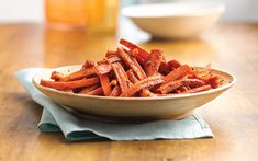 Heat up your Easter table with this spicy—and low-cal—side dish from from the newestBetty Crocker Cookbook. Roasting carrots in the oven is an easy way to bring out the natural sweetness of Easter's most popular root vegetable.