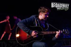 """Steven Booth performs """"Falling Slowly"""" from """"Once"""" at Transcendence Theatre Company's Broadway Under The Stars in Jack London State Park - Sonoma, Napa, Wine Country http://www.transcendencetheatre.org/ Photo By Ray Mabry"""
