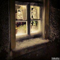 An kalten #Wintertagen wie diesen ist es drinnen im Warmen am schönsten...