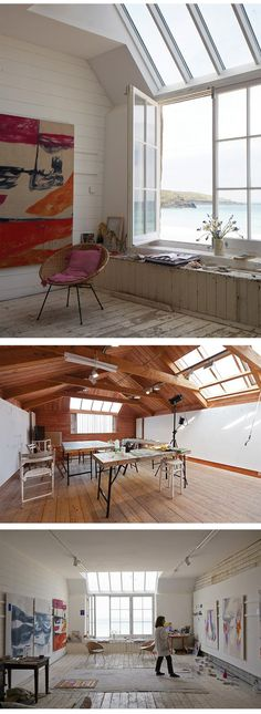 Porthmeor Studios, St Ives     http://www.bdonline.co.uk/porthmeor-studios-st-ives-by-long-and-kentish/5060425.article