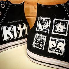 a8d06c97d363 KISS Converse  KISS  genesimmons  converse  rock  chucks  kicks  allstar. Custom  Converse Ltd