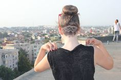 #blonde#hair#undercut#model#zig#zag#zigzag#hairstyle