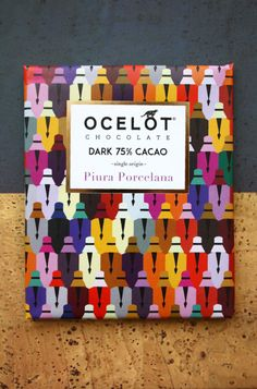 OCELOT chocolate. Seriously, in this particular situation would you really care about the content having such quality of the packaging? ...Please, come on, be honest! Not me, for sure!