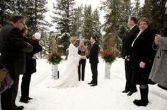 Banff Winter wedding venue