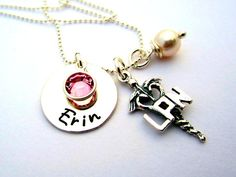 Licensed Practical Nurse LPN Charm Jewelry Gift w/ by ShinyMetals, $38.00