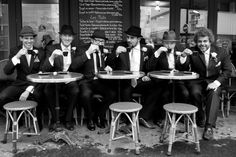 groomsmen in paris © Studio Cabrelli #wedding