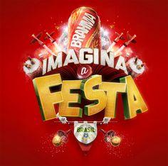 BRAHMA - Imagina a Festa by Romeu e Julieta - Estúdio, via Behance