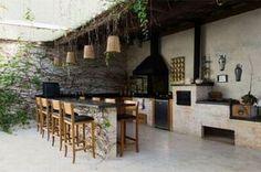 Versão moderna do fogão a lenha (Foto: Reprodução Casa e Construção)