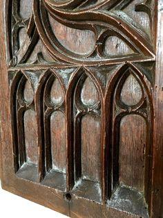 gótikus stílusú antik bútorok Carving, Vintage, Wood Carvings, Sculpting, Vintage Comics, Cut Work, Primitive, Sculpture, Wood Carving