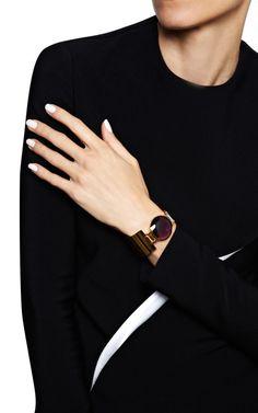 Timeless Bracelet In Purple Quartz by Delfina Delettrez for Preorder on Moda Operandi