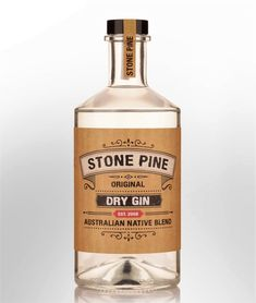 Gin Bottles, Vodka Bottle, Gin And Tonic, Liquor, The Originals, My Favorite Things, Stone, Beverages, Alcohol